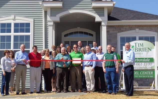 RibbonCuttingTimOBrienHomes